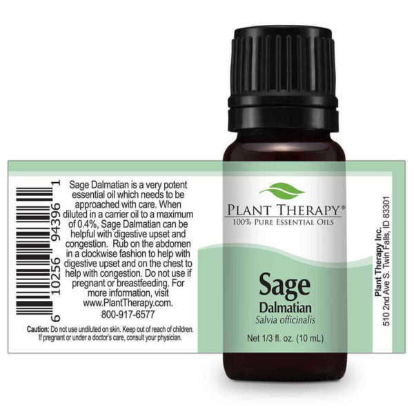 Sage Dalmatian - Orvosi Zsálya illóolajxx