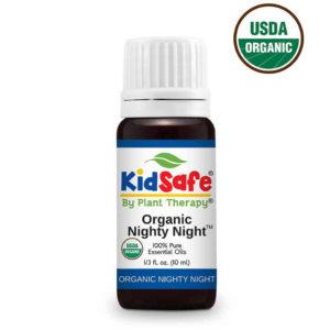 Nighty Night Organic KidSafe - Nyugodt alvás illóolaj keverékxx