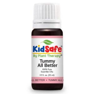 Tummy All Better KidSafe - Pocak támogató illóolaj keverékxx
