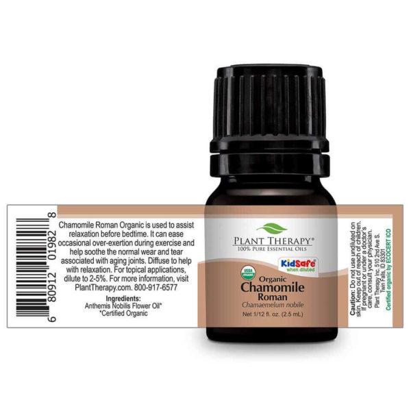 Chamomile Roman Organic 2,5 ml - Organikus Római kamilla illóolajxx
