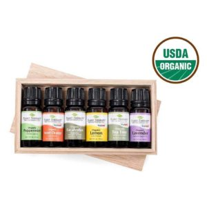 Top 6 Singles Organic Essential Oil Setxx