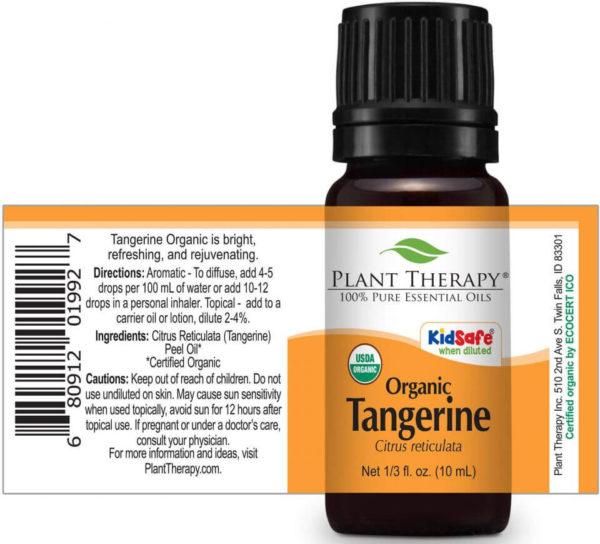 Tangerine Organic - Organikus Tangerin illóolajxx
